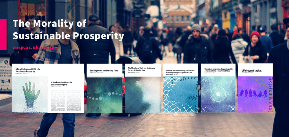 essay series on meanings and moral framings of sustainable to explore the meaning and moral framing of sustainable prosperity we have commissioned six papers by leading international philosophers and social